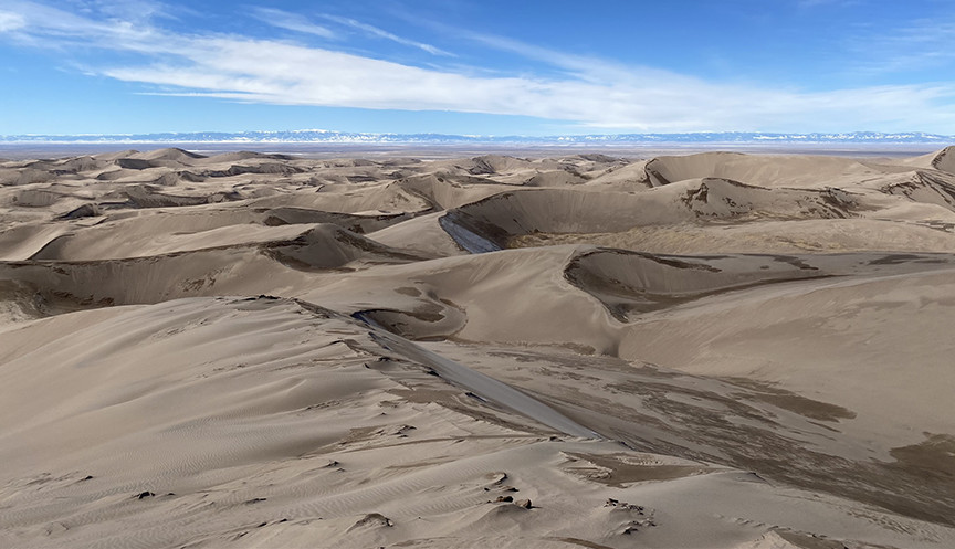 Views from the Sand Dune Peak