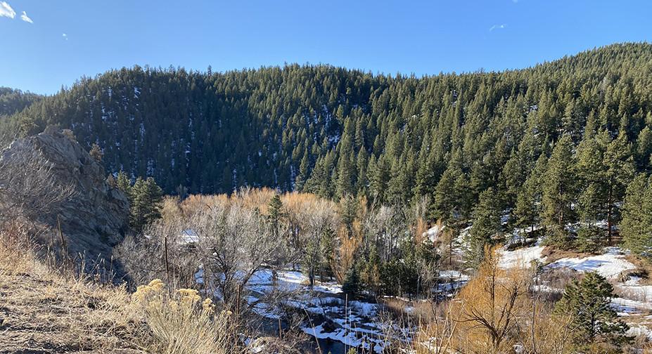 Drive to Evergreen Colorado