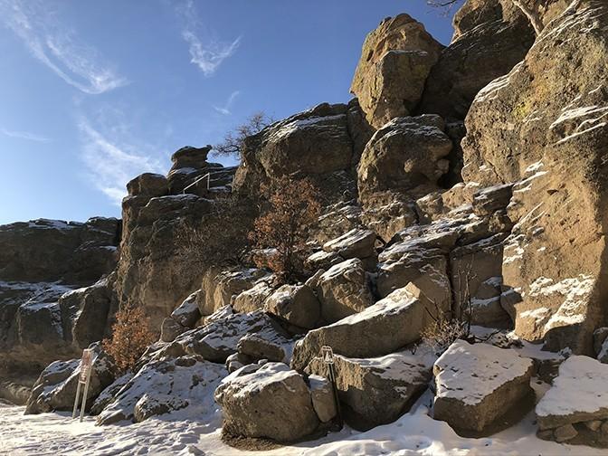 Castle Rock Trail | Rock Climb
