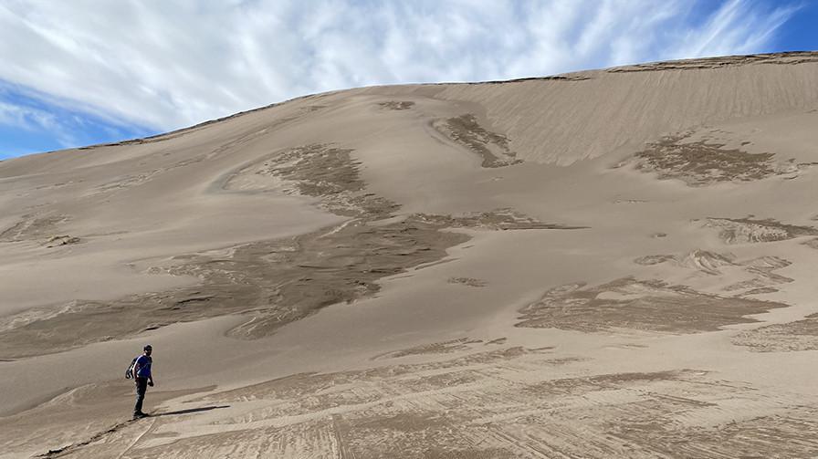Sand Dune Ascent