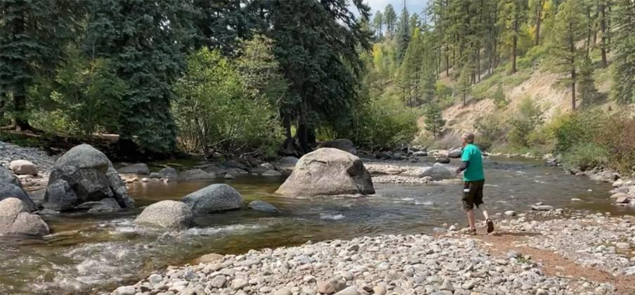 Trout Fishing Los Pinos River