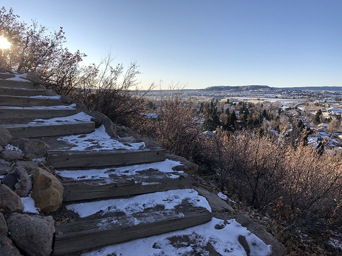 Castle Rock Trail Stairs