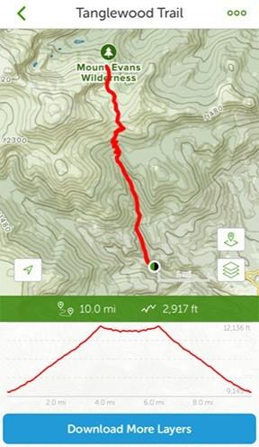 AllTrails Tanglewood Trail