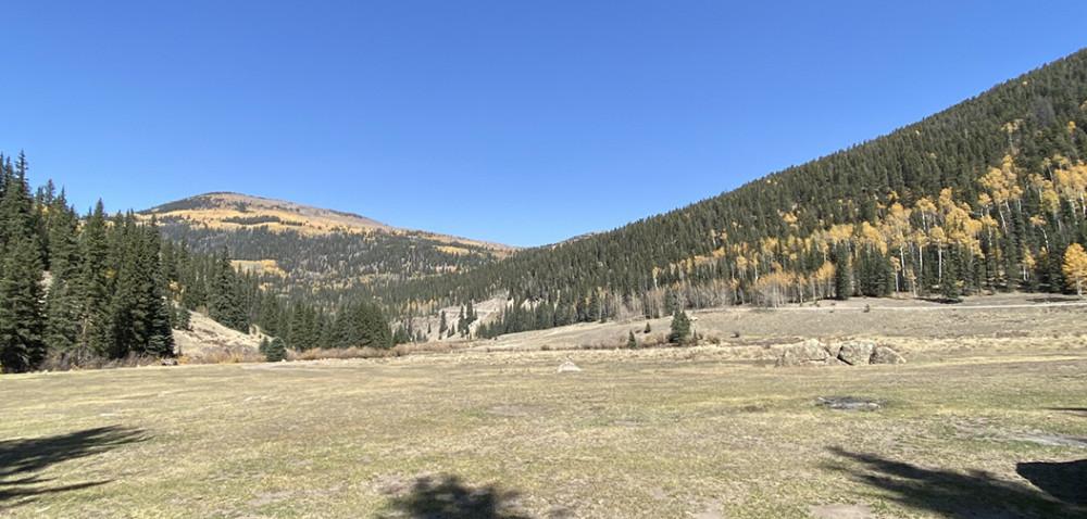 Colorado Mountain Valley | Camp Site