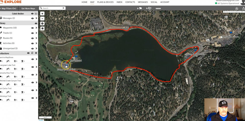Route & Waypoint Results