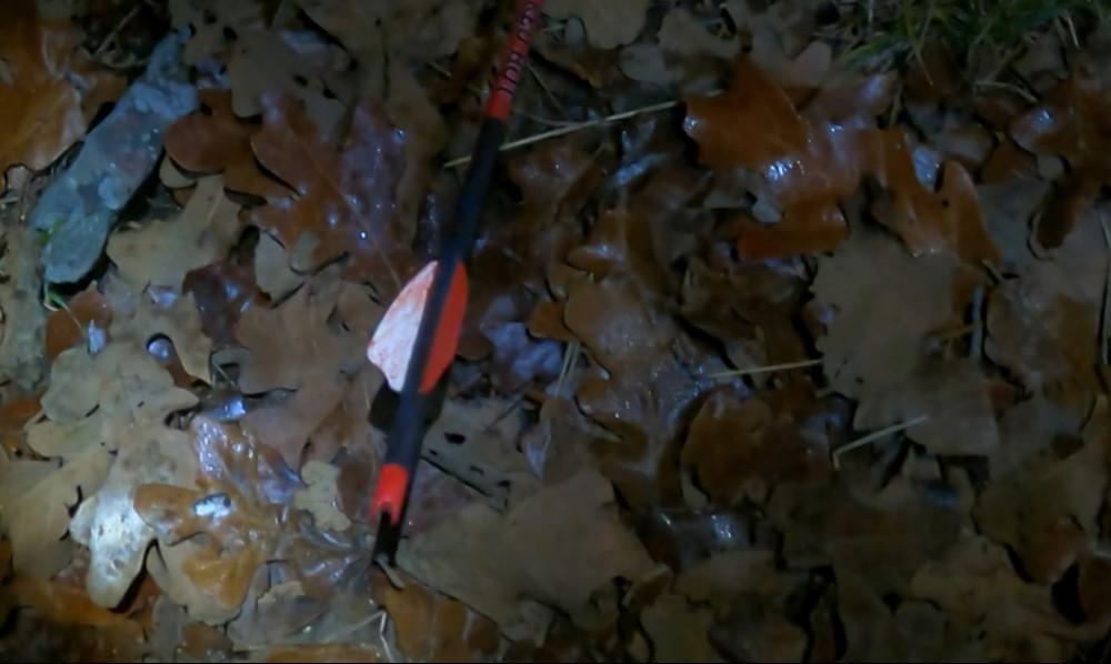 Crossbow arrow