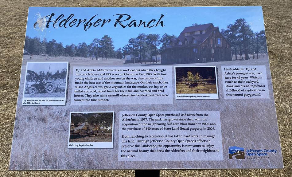 Alderfer Ranch | Evergreen Colorado