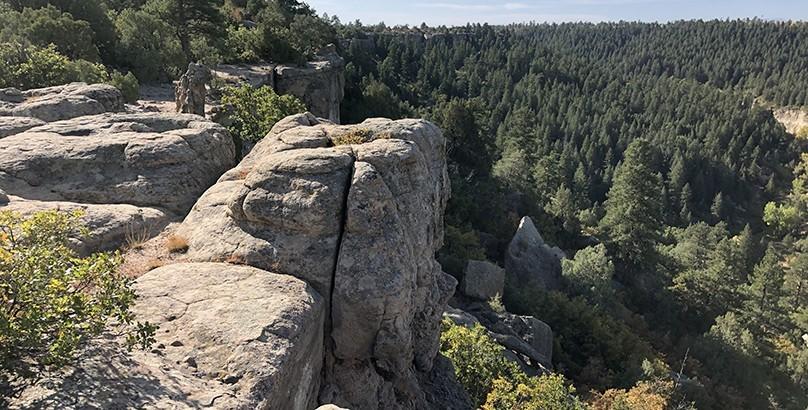 Castlewood Canyon Rock Walls