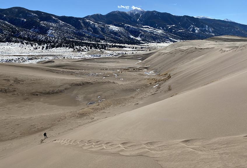 Sand Dune Descent
