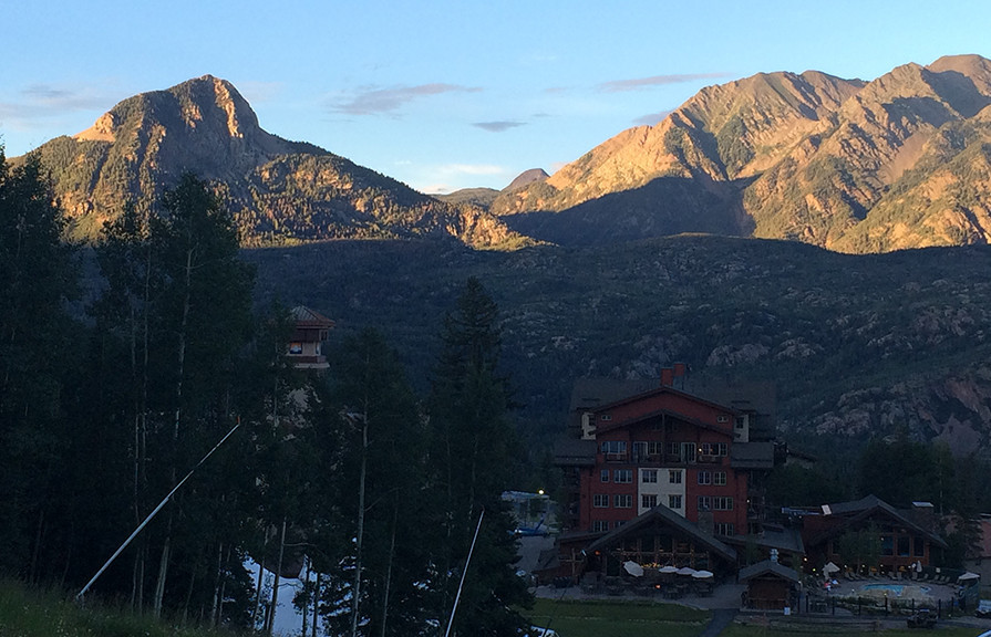 Sunset at the Durango Mountain Resort