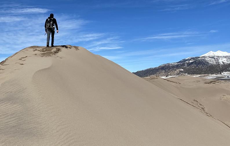 The Sand Dune Peak