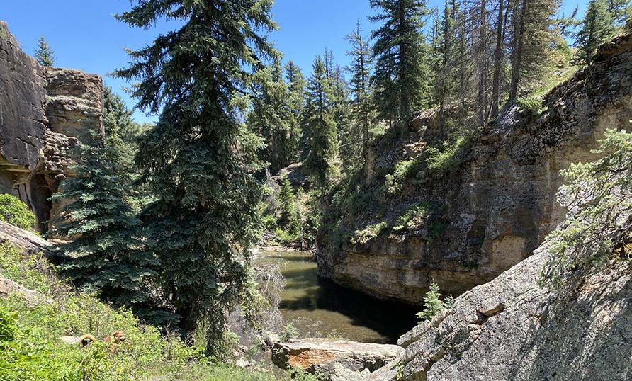 Piedra River Rock Formations