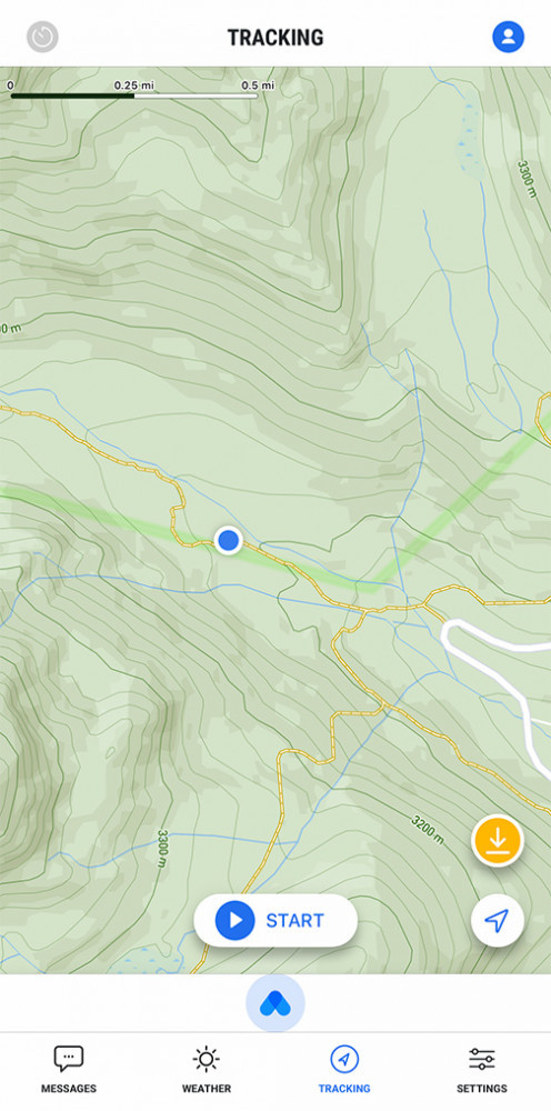 Somewear Global Hotspot with Topo Map and Trail