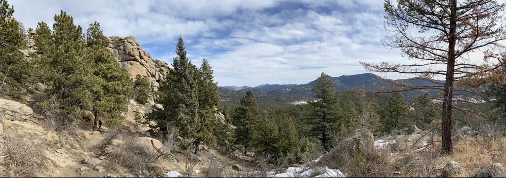 Three Sisters Evergreen Colorado