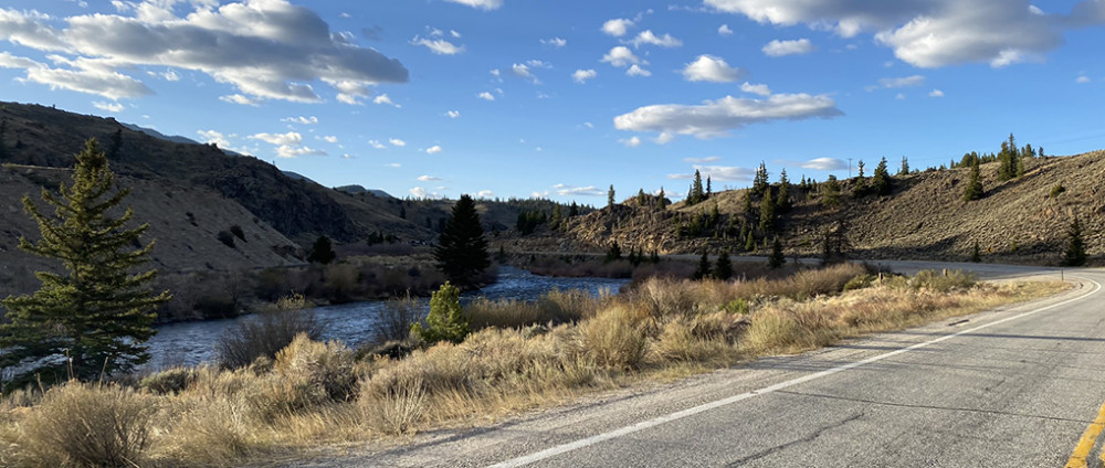 Drive south of Leadville Colorado