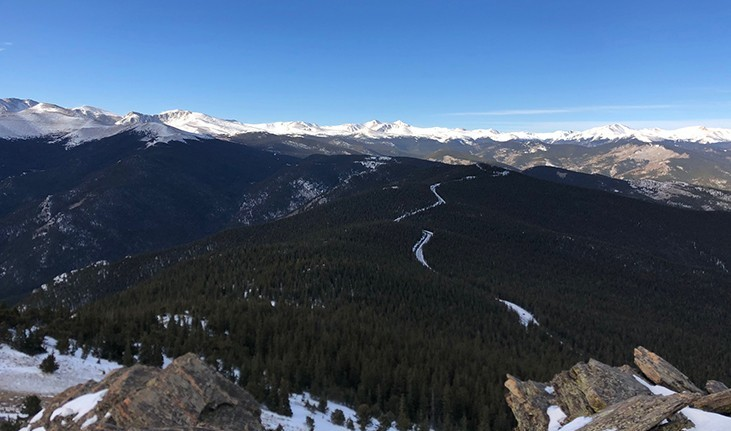 Hiking Trails in Colorado Chief Mountain Trail