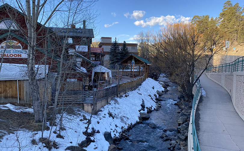 Bear Creek in Evergreen Colorado