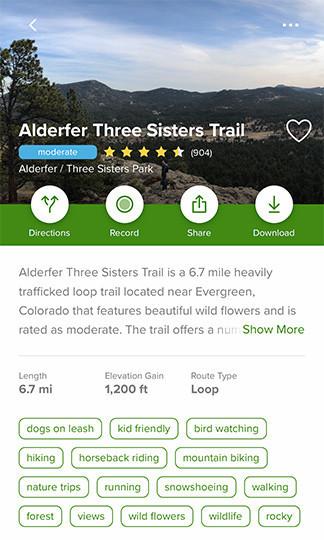 Hiking Trails in Colorado | Alderfer Three Sisters Trail