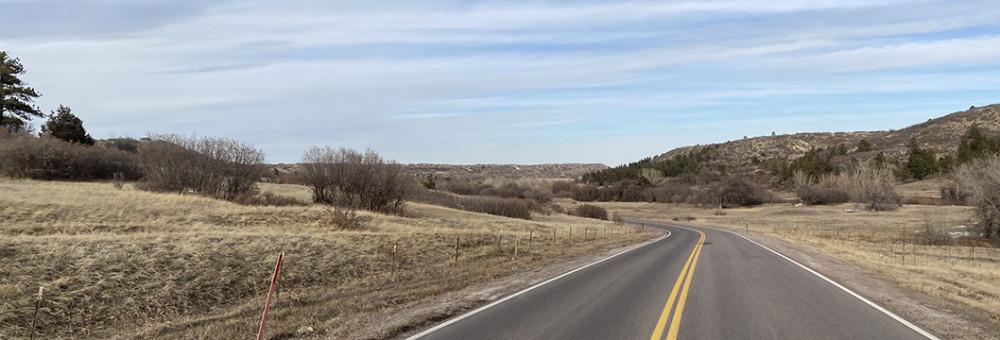 Drive to Hidden Mesa Trail