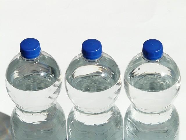 use a plastic bottle