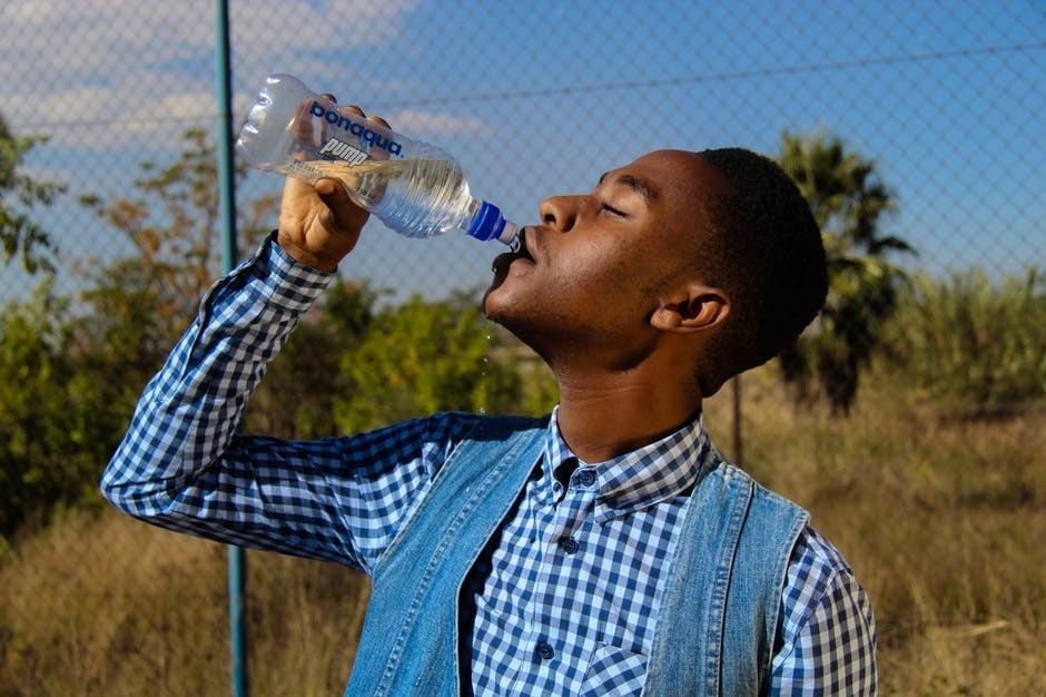 rainwater drinking