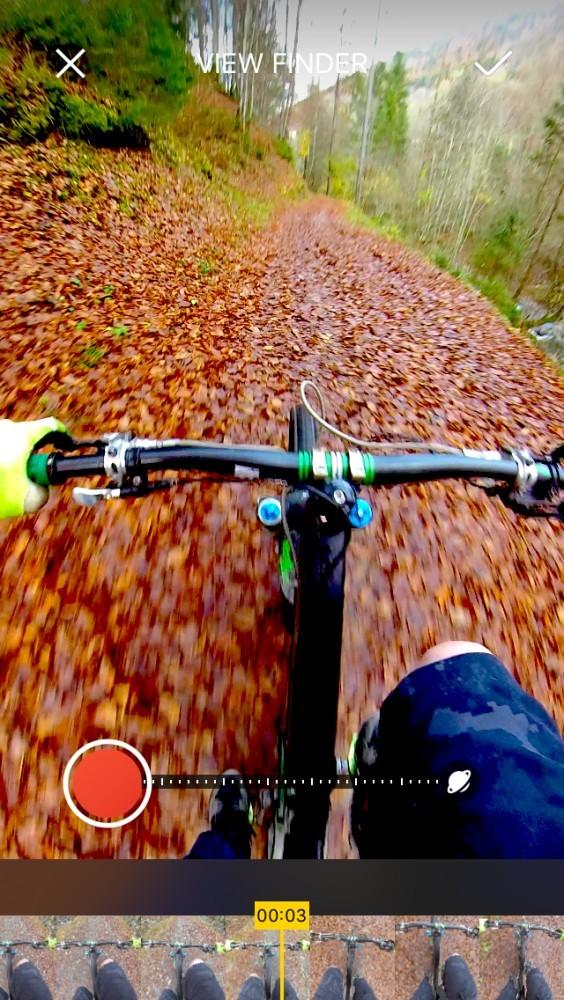 Insta360 One X for Mountain Biking