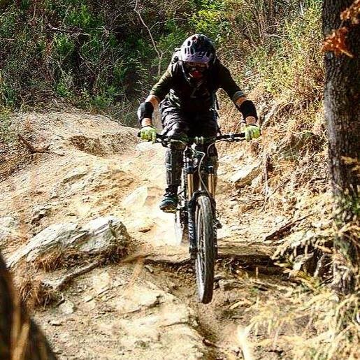 mountain biking Finale Ligure