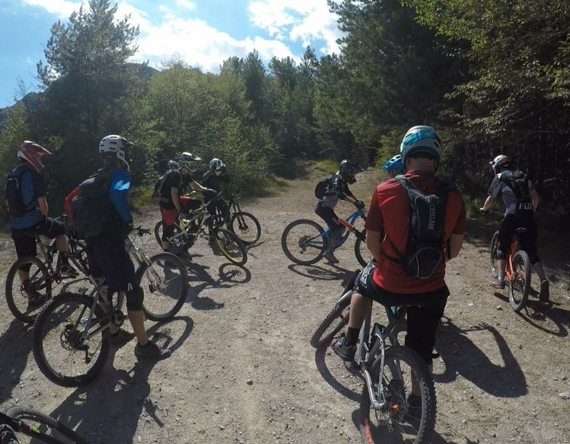Mountain bike trail etiquette
