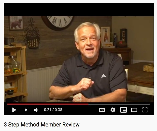 3 Step Method Review - Watch What You Step On
