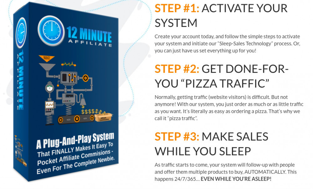 What Is The 12 Minute Affiliate Program And Is It Legit?
