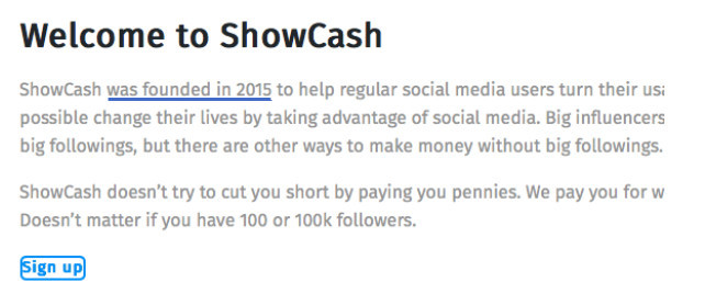 What Is Show Cash And Is It Legit?