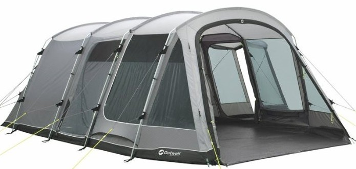 Outwell Montana 6p tent pitched
