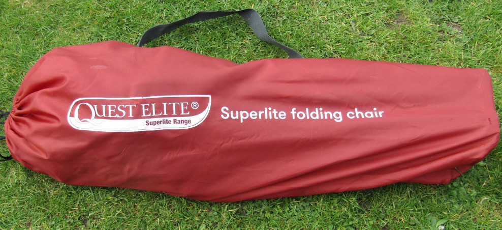 Quest Elite Chair in Carry Bag