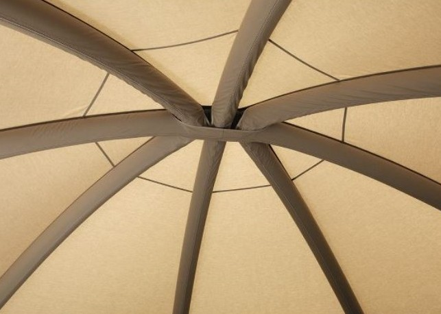 Air Beams in Aero Yurt