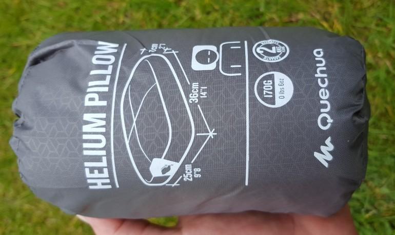 Helium Pillow inpack