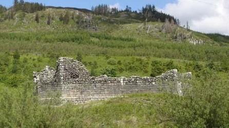 Loch Doon Castle Ruins