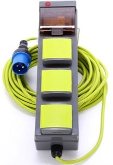electric mains kit for camping