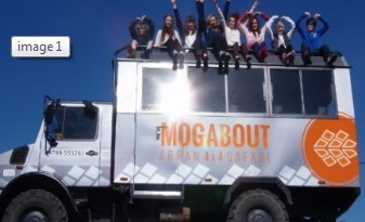 Mogabout Truck and Passengers