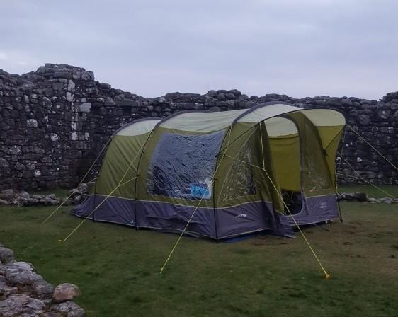 Loch Doon Castle Camping