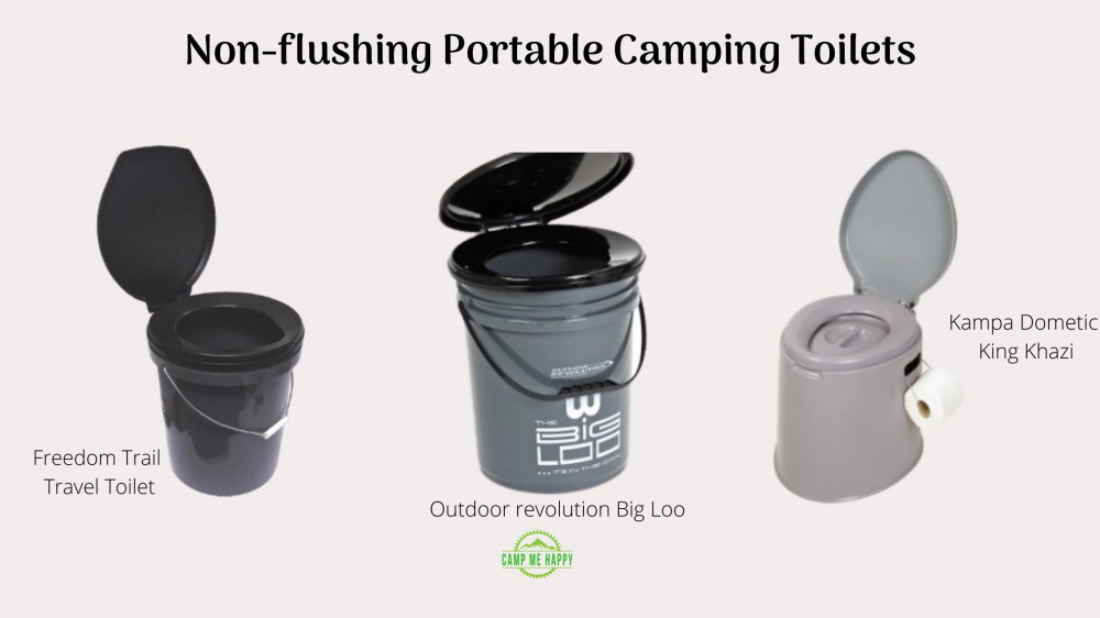 non-flushing camping toilets example