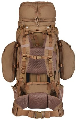 kelty eagle 128 backpack back