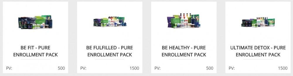 Genesis Pure review enrollment packs
