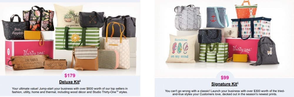 Thirty-One review enrollment kits