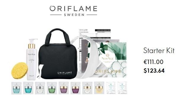 Oriflame pyramid scheme starter kit