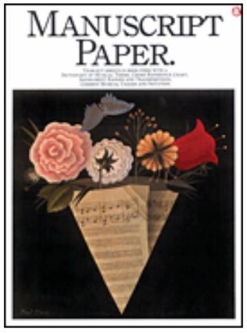 AMSCO Manuscript Paper
