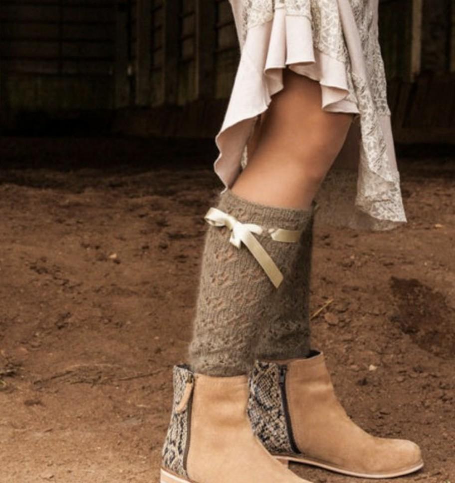 Barmine Angora Leg Warmer