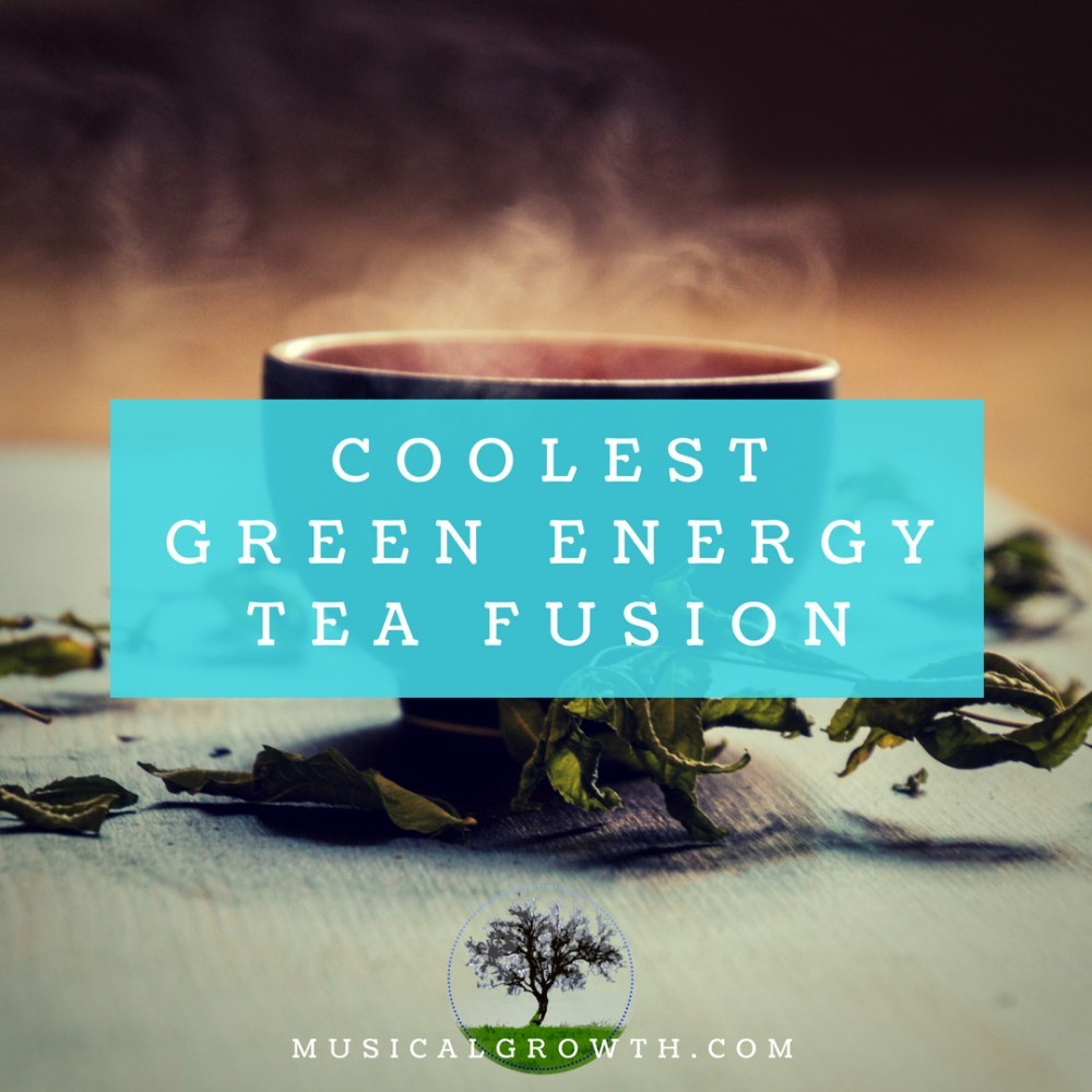 MusicalGrowth Green Energy Tea Fusion