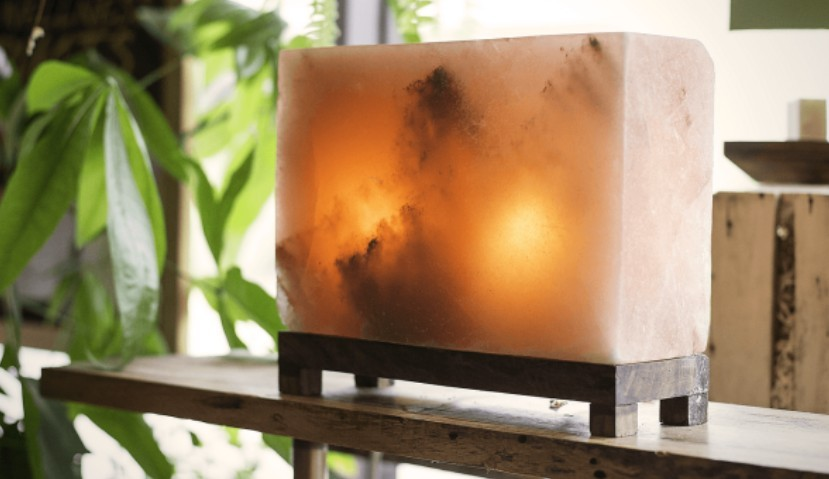 Rectangle Salt Lamp