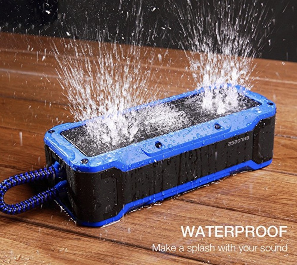 Poweradd Waterproof outdoor speaker