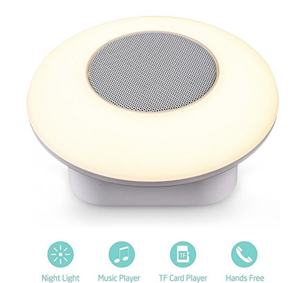 Lujii Touch Lamp Outdoor Speaker